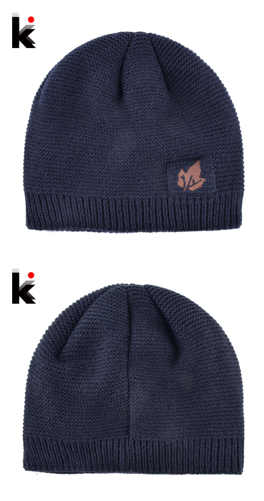 96d931e732a 2018 Men Winter Hat Scarf Sets Fashion Maple Leaf Knitted Skullies Beanies  Man Thick Add Velvet Knit Bonnet Cap Boys Scarves Set. K 01 K 02 ...