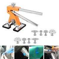 PDR Hand Tool Sets Dent Lifter Kit Glue Puller Paintless Dent Repair Tool Bag Hail Removal