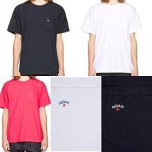 19SS NOAH TShirts little pocket logo cotton top tess Hip Hop Fashion Summer Style Casual streetwear NOAH T shirts  xxxtentacion