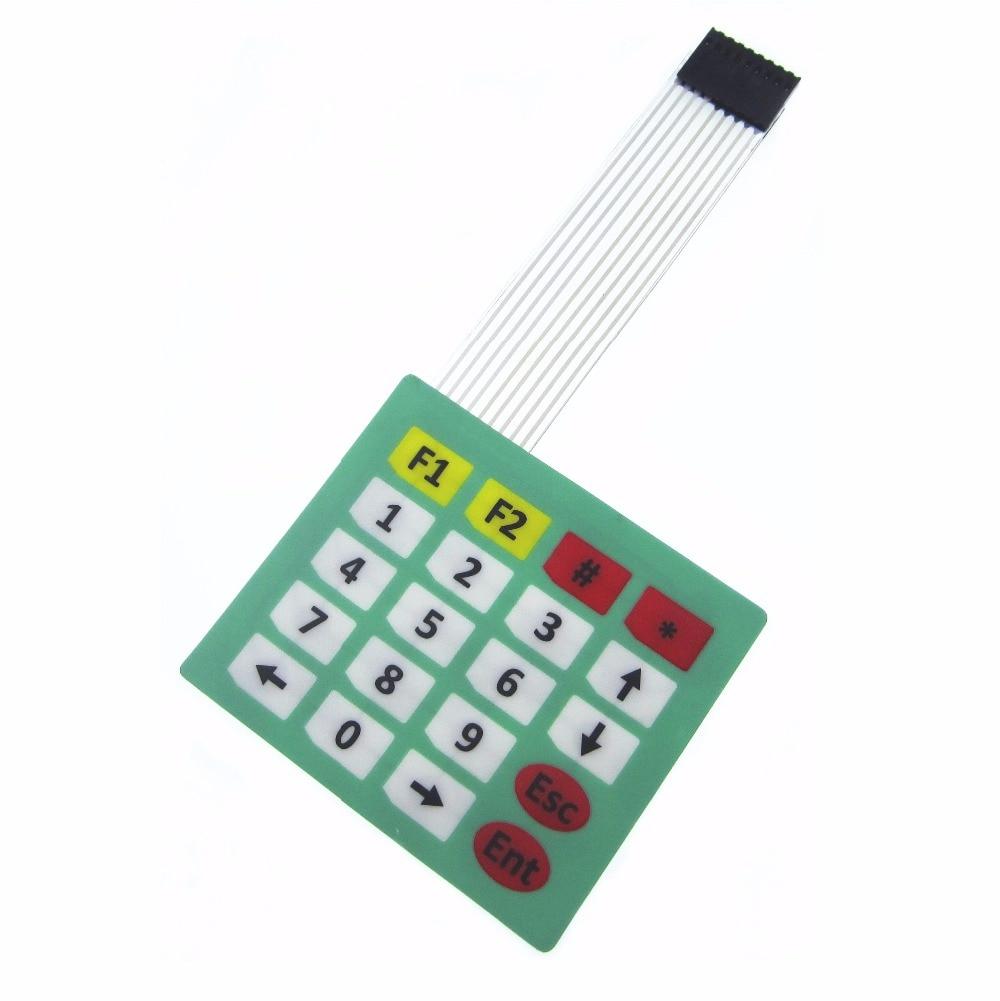 HAILANGNIAO 10PCS/LOT 4x5 Matrix Array 20 Key Membrane Switch Keypad Keyboard 4*5