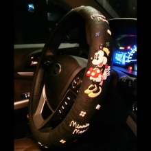Mickey Minnie Mouse Cartoon Steering Wheel Covers