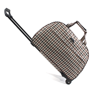 Image 3 - Luggage Bag Travel Duffle Trolley bag Rolling Suitcase Trolley Women Men Travel Bags  With Wheel Carry On bag