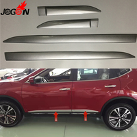 For Nissan X Trail X Trail Rogue 2017 Facelift Car Side Door Body Trim ABS Chrome