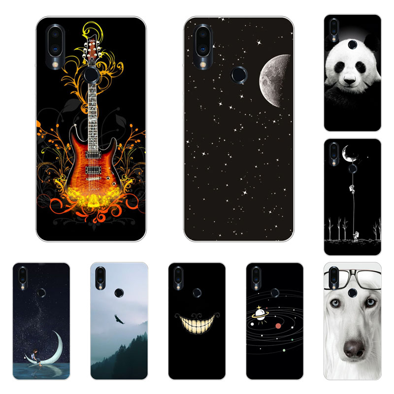 Meizu note 9 Case,Silicon Beast animal Painting Soft TPU Back Cover for Meizu note9 Phone protect Bags shell