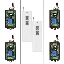 3000m DC 9V 12V 24V 1 CH 1CH RF Wireless Remote Control Switch System 315 433