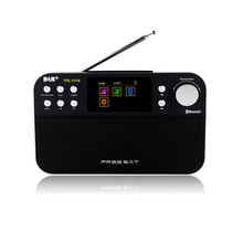 Freesat DR-103 DAB+/FM RDS Wavebands Radio Receiver 2.4″ TFT-LCD Color Display Digital Radio