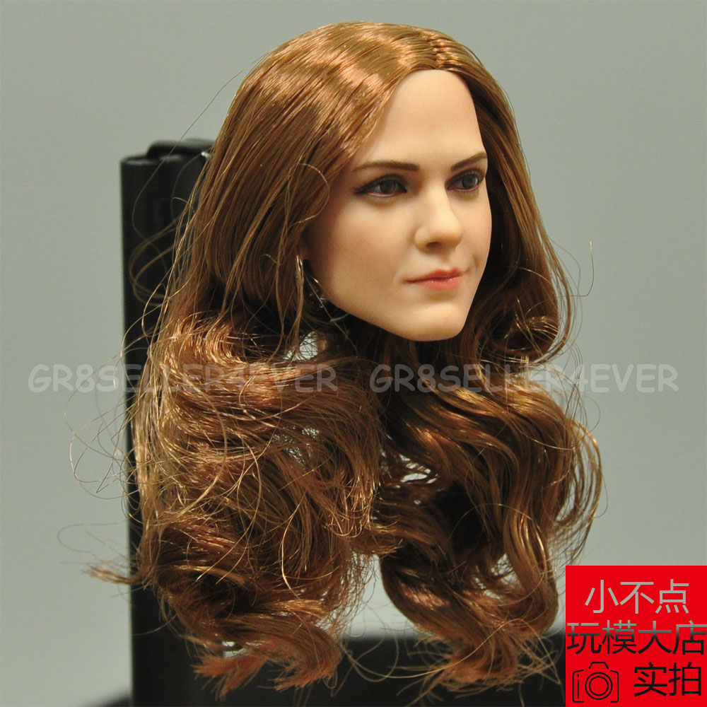 modular art 1/6 head sculpt emma watson 2.0 hermione fit for hot
