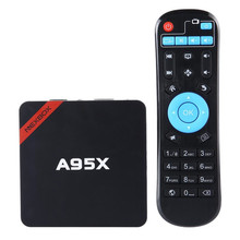 S905 NEXBOX A95X TV Box Set-Top Box Amlogic Quad Core Bits 1 GB RAM 8 GB ROM Android 5.1 4 K Reproductor Multimedia Inteligente 2.4 GHz WiFi TV caja