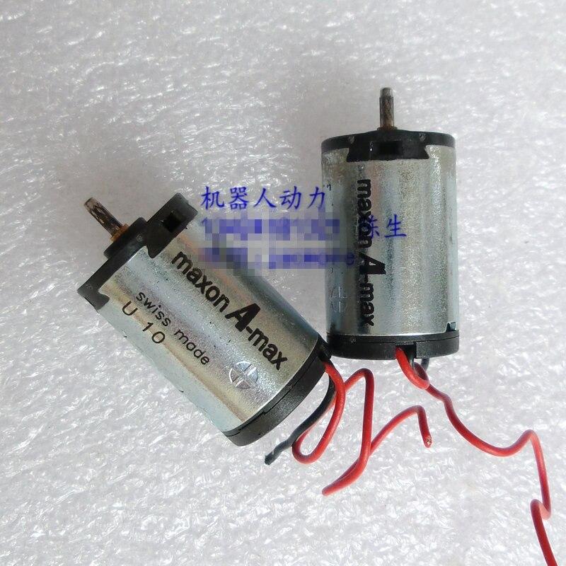Б/у мотор maxon A-Max 16 мм постоянного тока, низковольтный, высокая скорость