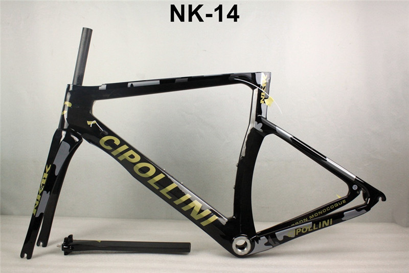 2017 NK1K carbon bike frame T1000 full carbon fiber chroad bike frame carbon 1 1/8 to 1 1/2 integrated headset included track frame fixed gear frame bsa carbon 1 1 2to 1 1 8 bike frameset with fork seatpost road carbon frames fixed gear frameset