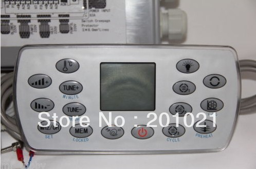 Panneau Badtunna ovansida kontroll-panneau kinesiska J & J JNJ Kingston-KL8-3/TCP8-3 SpaPanneau Badtunna ovansida kontroll-panneau kinesiska J & J JNJ Kingston-KL8-3/TCP8-3 Spa