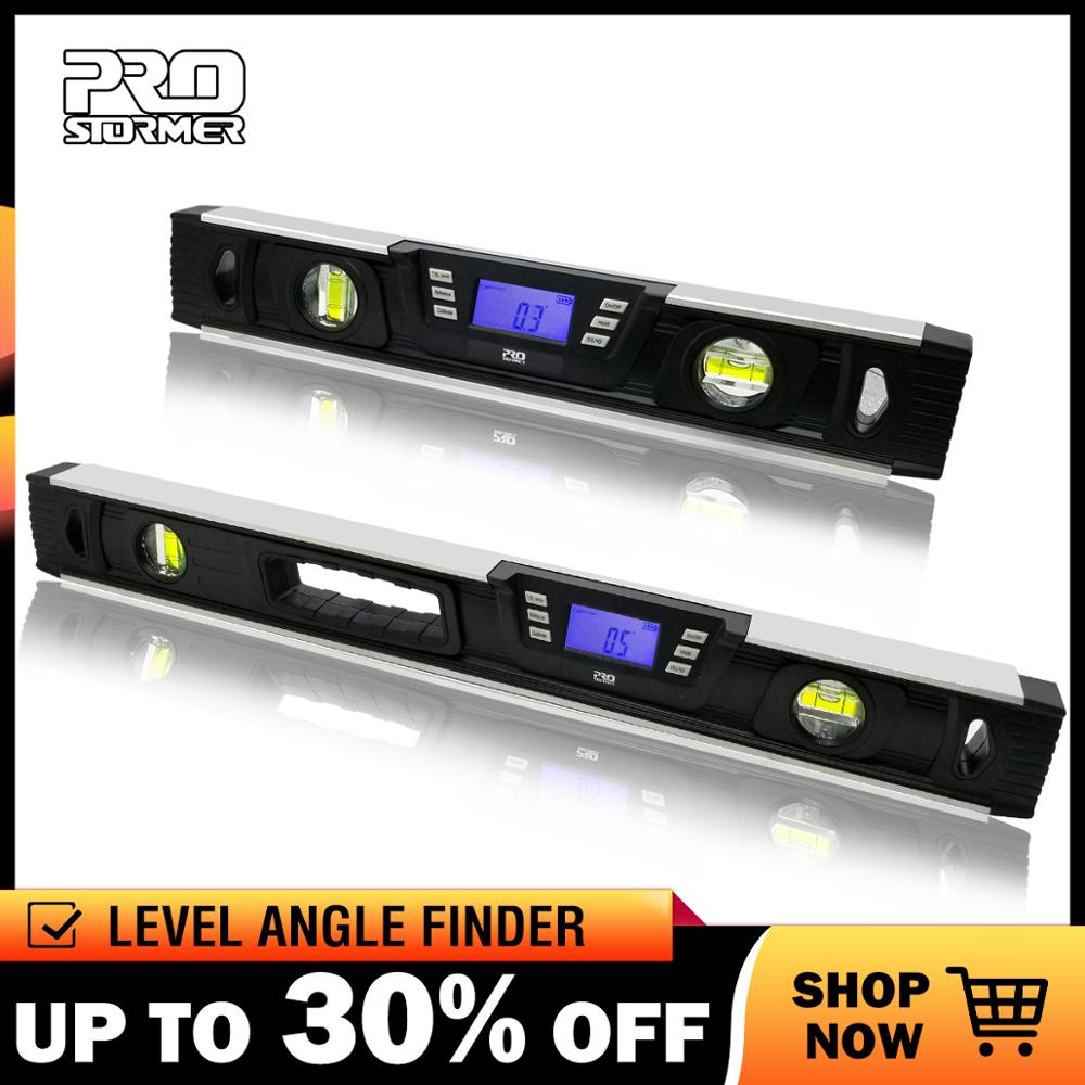 Prostormer 40cm/60cm Digital Level Angle Finder Protractor electronic Level 360 degree Inclinometer with Magnets Level angleProstormer 40cm/60cm Digital Level Angle Finder Protractor electronic Level 360 degree Inclinometer with Magnets Level angle