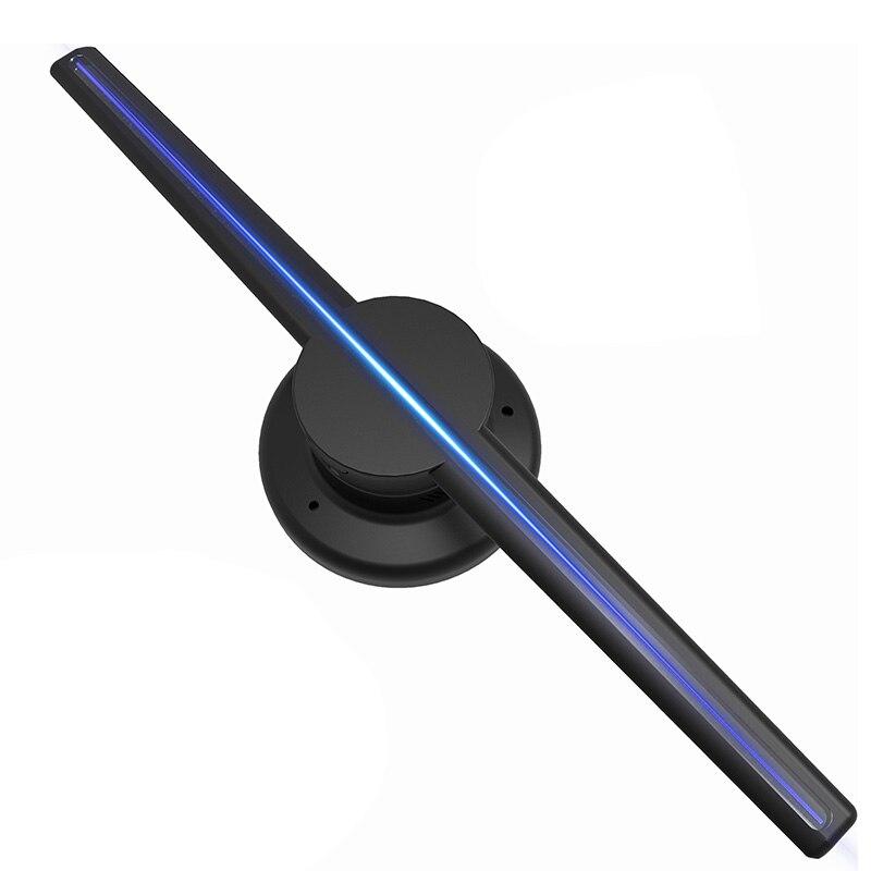 Led-beleuchtung Aufrichtig Bifi-wifi 3d Holographische Projektor Display Fan Hologramm Player 320 Led Werbung Uns Stecker Led-flächenleuchten