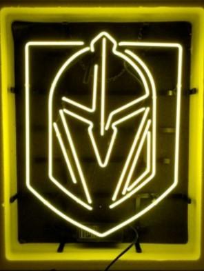 Custom Knights Glass Neon Light Sign Beer Bar