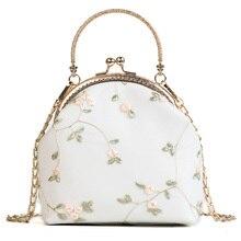 Lace Women bag 2021 Summer Fashion New Handbag High quality PU Leather Sweet Tote bag Chain Portable Shoulder bag Travel bags