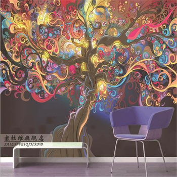 beibehang Large mural wallpaper living room sofa bedroom TV backdrop murals personalized custom WALLPAPER woman free shipping цена 2017