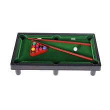 Mini Desktop Billiards Toy Outdoor Games Mini Tabletop Whole Family Pool Set Parent-Child Interaction Kids Toy mini billiards game 6 balls desktop games table game child toy wooden billiards toys classic special challenging games ball pit