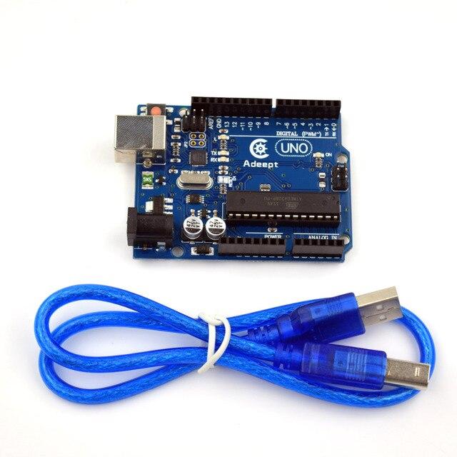 Adeept New Arduino UNO R3 with RC522 RFID Reader Kit user manual for Arduino Freeshipping diy diykit