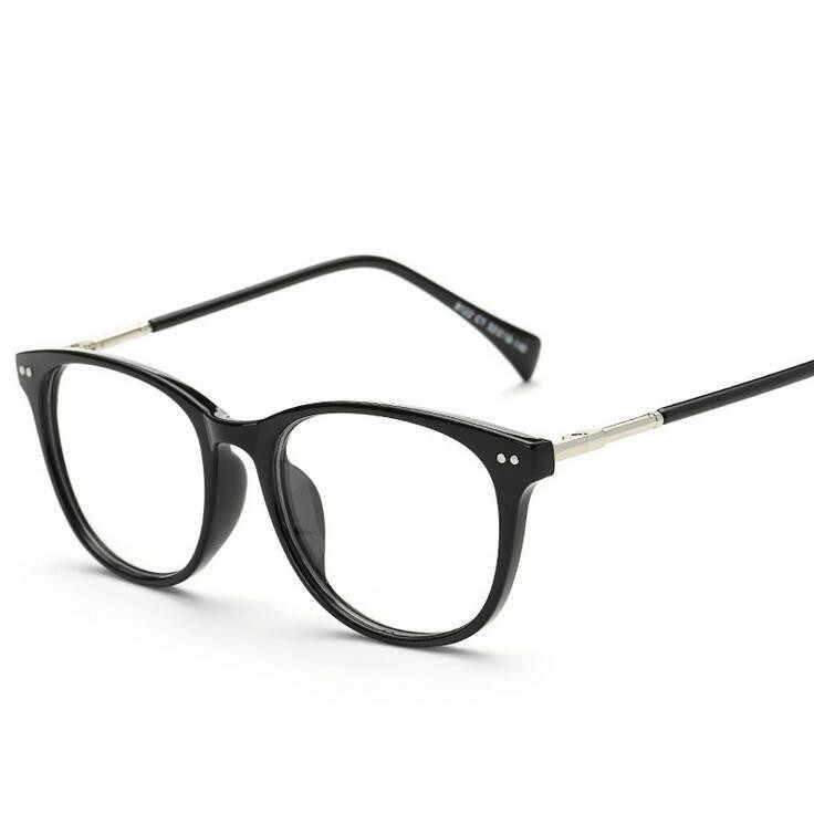 b8bc54ec85d ... 2018 Women s Optical Retro Eye Glasses Frame Unisex Spectacle Frame  Fashion Eyeglasses Vintage with Clear Lens ...