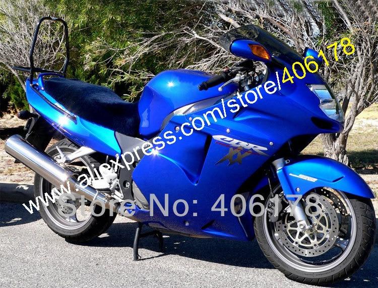 Hot Sales,Blue Fairing For Honda CBR1100XX 96-07 CBR1100 XX CBR 1100XX 1996-2007 +Free gift & windscreen (Injection molding) hot sales cbr 1100 xx 96 07 body kit for honda cbr1100xx 1100 blackbird 1996 2007 blue motorcycle fairings injection molding