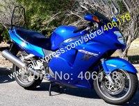 Hot Sales,Blue Fairing For Honda CBR1100XX 96 07 CBR1100 XX CBR 1100XX 1996 2007 +Free gift & windscreen (Injection molding)
