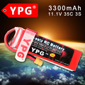 YPG 11.1V 3300mAh  35C GRADE A 3S  Lipo Li-Po Battery For RC Helicopter & Airplane & Car
