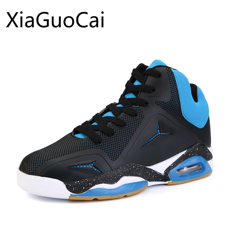 Air Cushion Basketball Shoes Men Damping Sport Sneakers Crazy Explosive Boost Basket Homme Breathable Waterproof Basketball Shoe