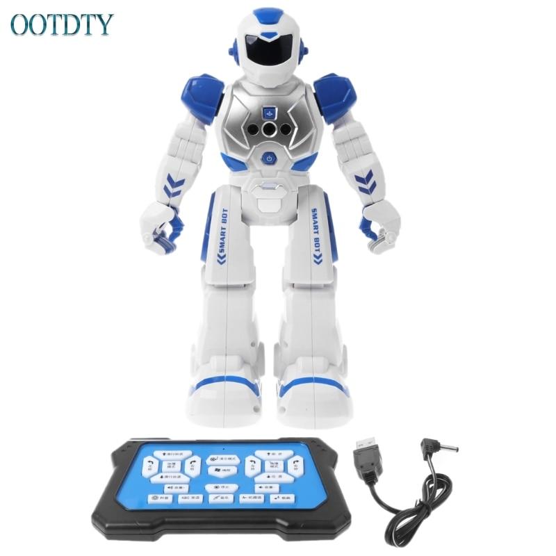 цена на Top Quality New Multifunctional Smart Infrared Control Robot Singing Dancing Music Light #330