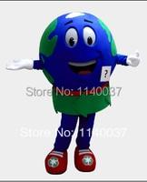 Maskot globe dünya maskot kostüm özel fantezi kostüm anime cosplay mascotte tema fantezi dress karnaval kostüm