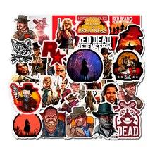 Autocollants de rachat pour Top games F5, rouge morts, pour carnet, Skateboard vélo, moto, jouets imperméables, DIY bricolage, 50 pièces