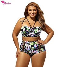 Dear Lover Plus Size Monokini Swimming For Women  Skirt Three Piece Set  Swimwear Large Size Swimsuit Female Bathing Suits 41861