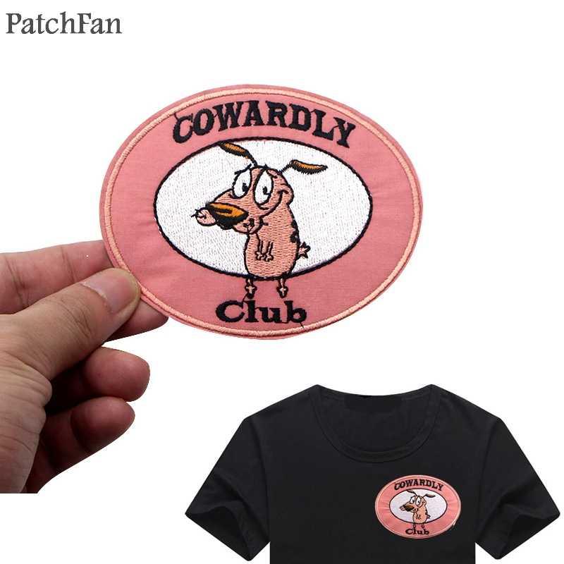 Patchfanการ์ตูนแพทช์Applique Diyเย็บเสื้อผ้าสำหรับเสื้อBadge Ironบนเสื้อยืดอุปกรณ์เสริมA1134
