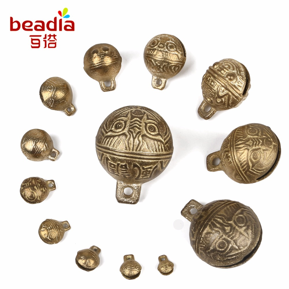 6 Pieces Koala Superstore 25MM Retro Bronze Jingle Bell Small Bell DIY Jewelry Making Accessories