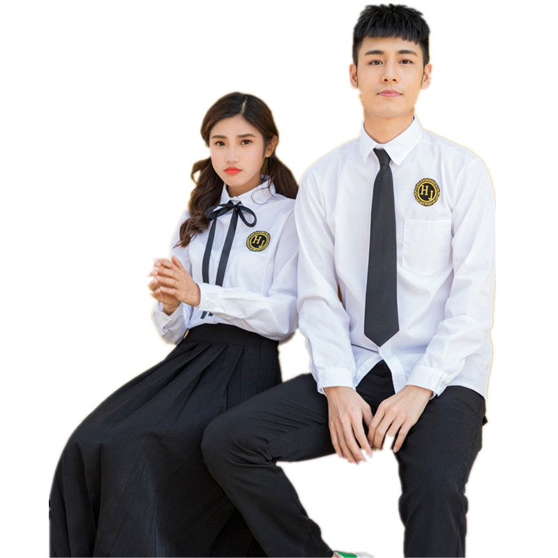 Japanese School Uniform For Boys And Girls Autumn Long-sleeved Korean High School Students Class Clothing Sets Men And Women