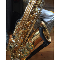 Free Shipping France Henri Selmer Saxophone Alto 802 Musical Instrument Alto Sax Gold Curved Saxfone Mouthpiece