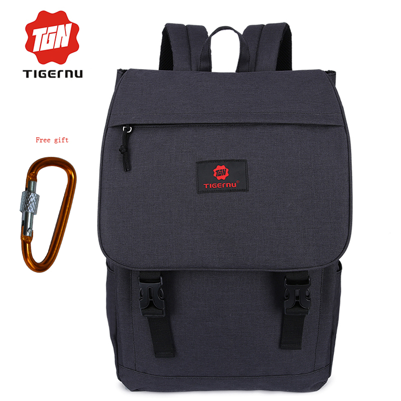 Tigernu Fashion Backpack School Bags Small Laptop Backpack business travel Backpack Daily Rucksack Mochila gift free shipping