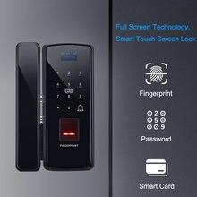 Eseye стеклянная блокировка отпечатков пальцев цифровой электронный