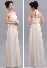 Beauty-Emily Long Chiffon Bridesmaid Dresses