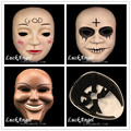 The Purge Mask God Cross Cosplay 2016 Home Decor Collection Horror Movie Masks Full Face Resin Creepy New Scary Halloween Mask