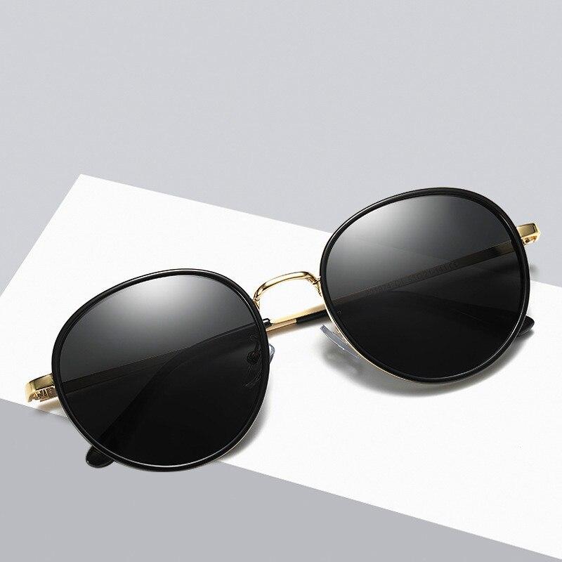 Ellen Buty Original Brand Design Women Sunglasses Polarized Oval Alloy Ladies Sun Glasses Driver Driving Mirrors