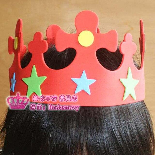 Child performance props child birthday hat birthday hair accessory birthday party supplies