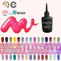 Blinkingel UV Gel Nail Polish 80ml Gel of Nail Primer Glitter Spray Gel Lak UV Gelpolish Colorful Bling Esmalte Nail Gel Polish