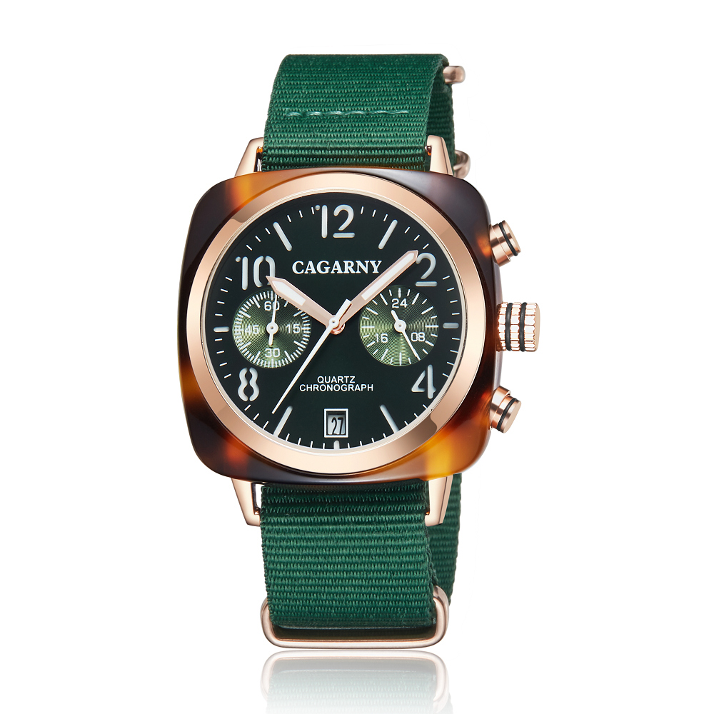 2019 Classic Chronograph Quartz Watches androgynous Fashion Watch His or Hers Wristwatch for Men Women Lovers Wedding Romantic Gift  (20)