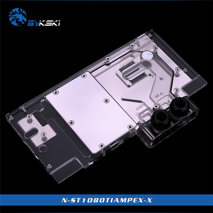 Water Cooling Fans, Heat Sinks & Cooling Responsible Bykski N-st1080amped-x Vga Water Cooling Block For Zotac Gtx 1080 1070 Amp