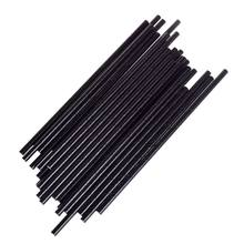 Biodegradable Drinking Paper Straws Black White Straw DIY Wedding for Baby Shower Wedding Birthday Halloween Party Decor 25Pcs(China)