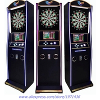 Multi Teenager Players Competition Electronic Coin Operated Lucky Darts Board Arcade Game Machine For Games Center