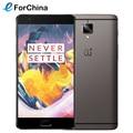 "Оригинал Oneplus 3 T LTE 4 Г Мобильный Телефон Snapdragon 821 5.5 ""Android 6.0 Смартфон 6 ГБ RAM 64 ГБ ROM 16MP Отпечатков Пальцев NFC"
