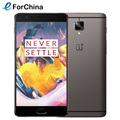 "Original Oneplus 3T LTE 4G Mobile Phone Snapdragon 821 5.5"" Android 6.0 Smart Phone 6GB RAM 64GB ROM 16MP Fingerprint NFC"
