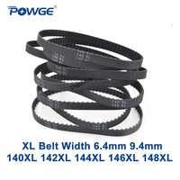 POWGE XL courroie 140/142/144/146/148 Largeur 025 6.4mm 037 Dents 70 71 72 73 74 Courroie Synchrone 140XL 142XL 144XL 146XL 148XL