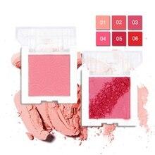 купить 2019 8 Colors Natural Blush Baked Cheek Face Blusher Texture Blush Face Base Blush Palette Powder Makeup Long Lasting дешево
